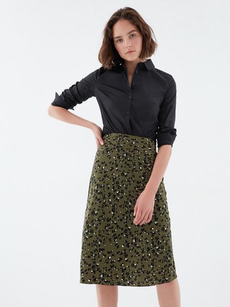 Струящаяся юбка - фото 1