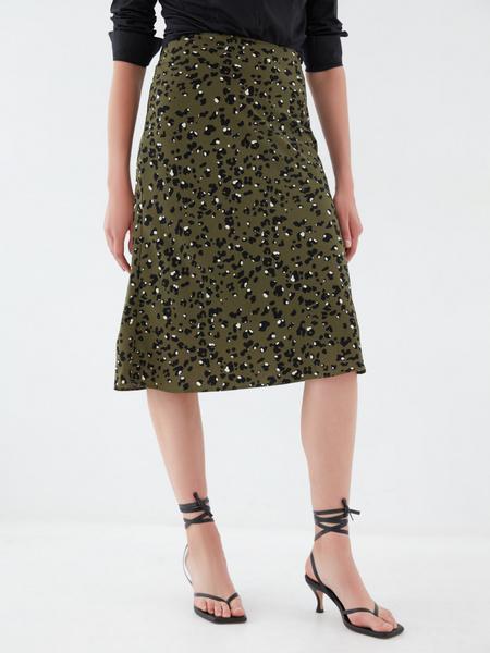 Струящаяся юбка - фото 2