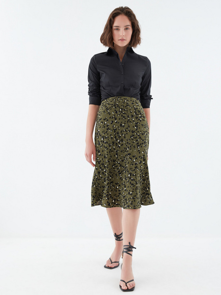 Струящаяся юбка - фото 6
