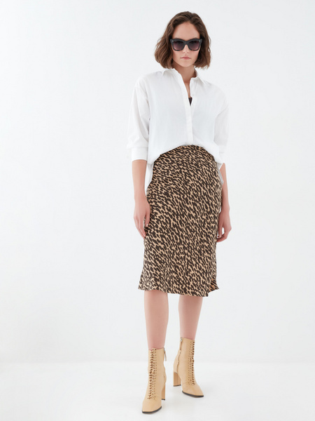 Струящаяся юбка - фото 5