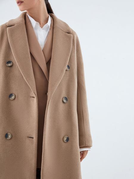 Удлиненное пальто - фото 2