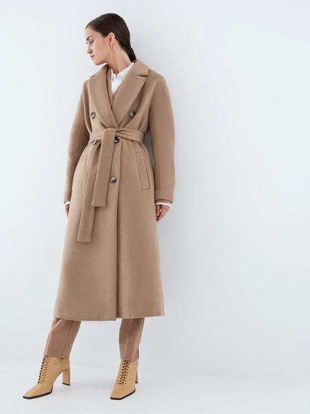 Удлиненное пальто - фото 5