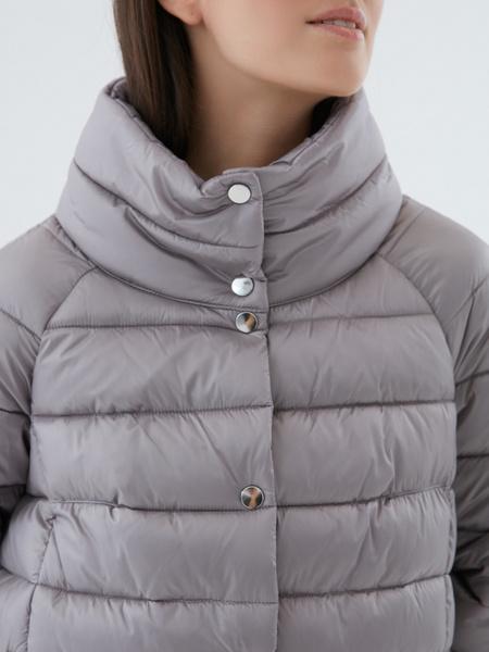 Стеганая короткая куртка - фото 2