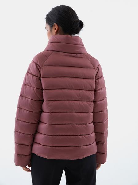 Стеганая короткая куртка - фото 5