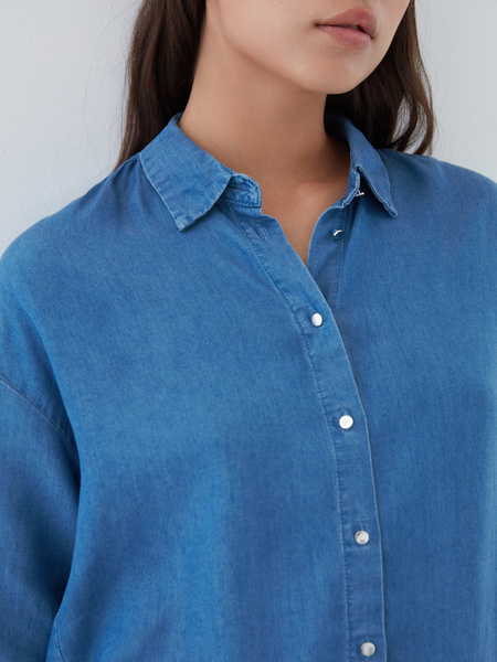 Блузка из 100% тенсела - фото 2