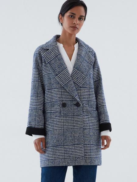 Прямое пальто на пуговицах - фото 2