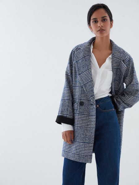 Прямое пальто на пуговицах - фото 4