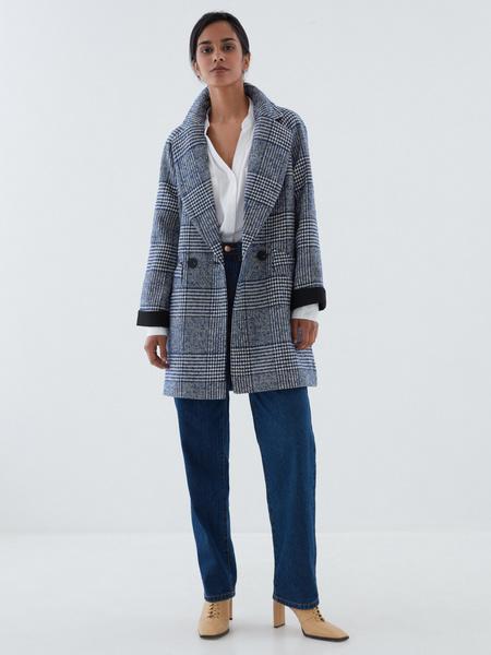 Прямое пальто на пуговицах - фото 8