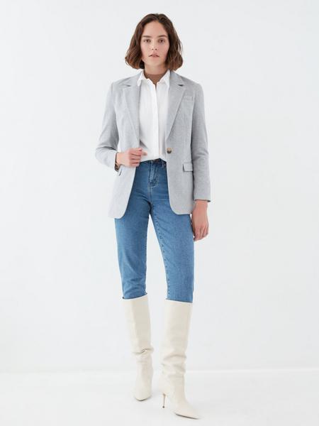 Жакет с карманами - фото 6