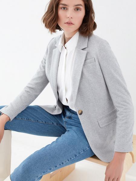 Жакет с карманами - фото 7