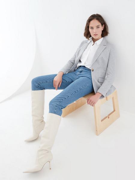 Жакет с карманами - фото 8