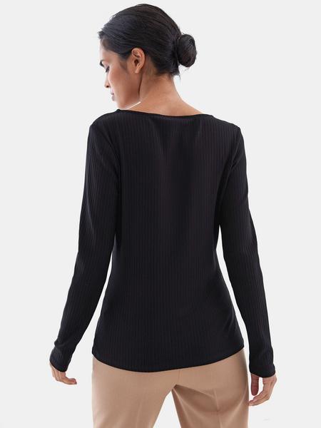 Блузка в рубчик - фото 5