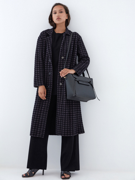 Пальто с карманами - фото 1