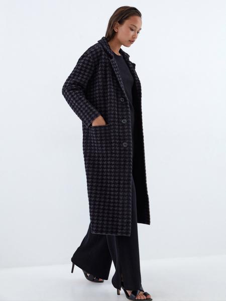 Пальто с карманами - фото 8