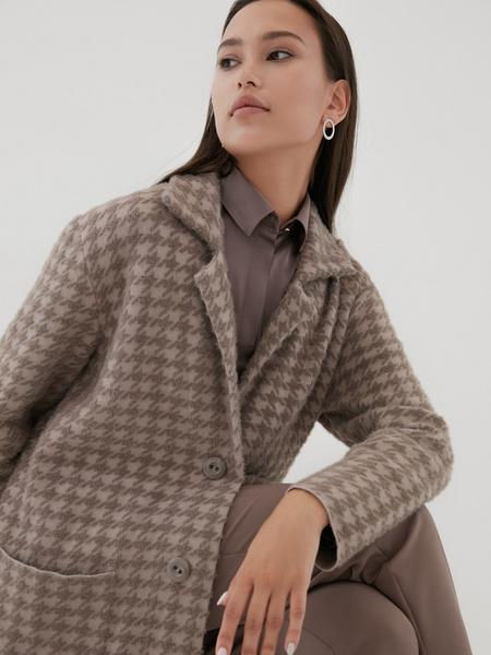 Пальто с карманами - фото 2