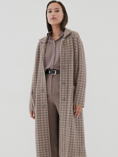 Пальто с карманами - фото 7