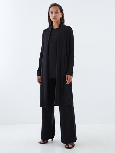 Широкие трикотажные брюки - фото 6