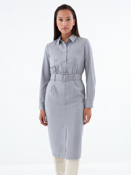 Платье-рубашка - фото 1