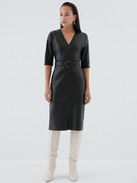Платье на поясе - фото 4