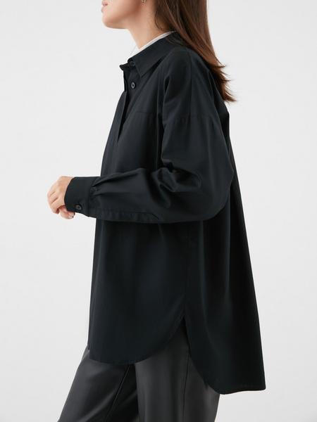 Блузка с карманом на груди - фото 5