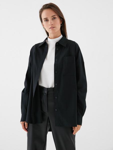 Блузка с карманом на груди - фото 7