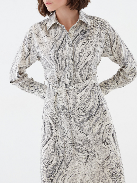 Платье с принтом - фото 2