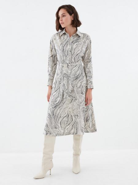 Платье с принтом - фото 5