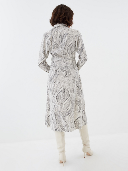 Платье с принтом - фото 6
