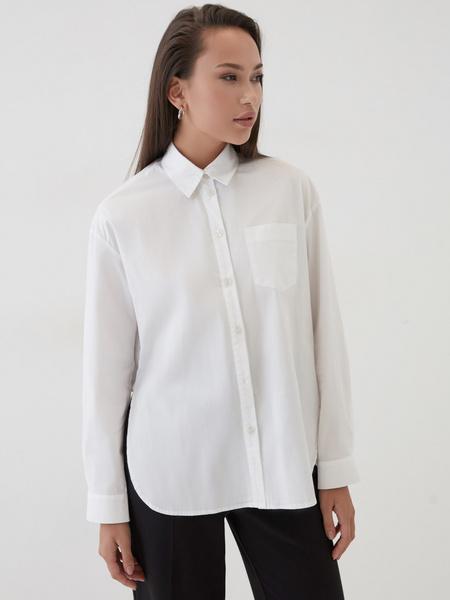 Рубашка с удлиненной спинкой - фото 2