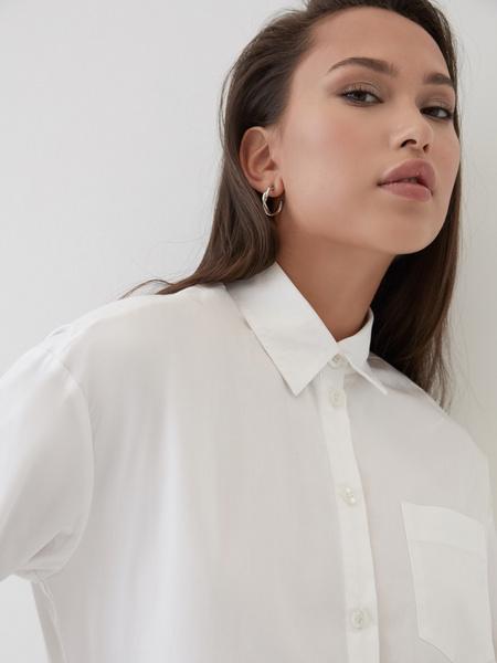 Рубашка с удлиненной спинкой - фото 3