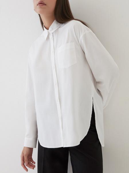 Рубашка с удлиненной спинкой - фото 4