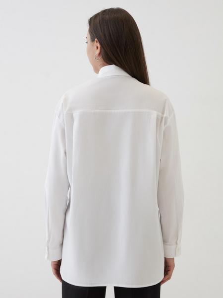 Рубашка с удлиненной спинкой - фото 5