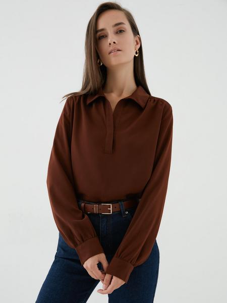 Блузка на пуговицах - фото 1