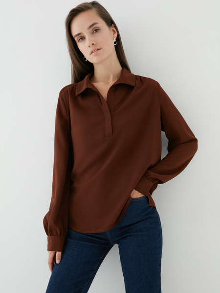 Блузка на пуговицах - фото 2