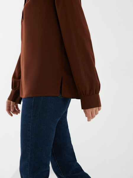 Блузка на пуговицах - фото 4