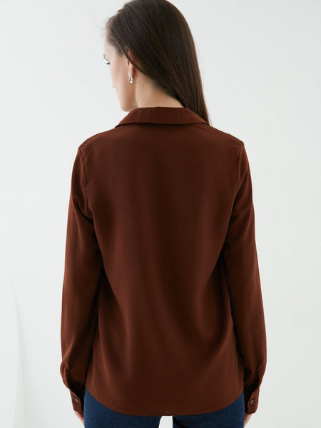 Блузка на пуговицах - фото 5