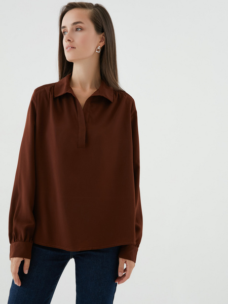 Блузка на пуговицах - фото 6