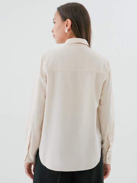 Блузка с удлиненными манжетами - фото 4