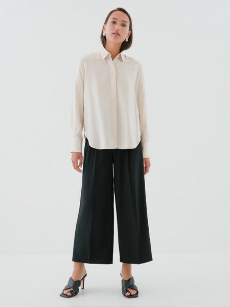 Блузка с удлиненными манжетами - фото 5