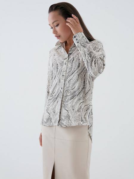 Блузка с принтом - фото 4