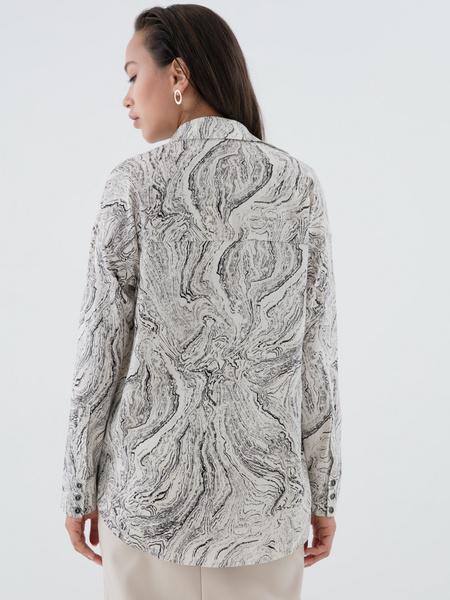 Блузка с принтом - фото 6