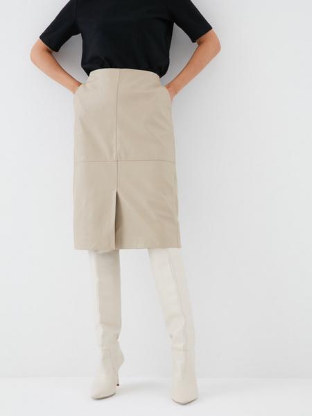Юбка с карманами