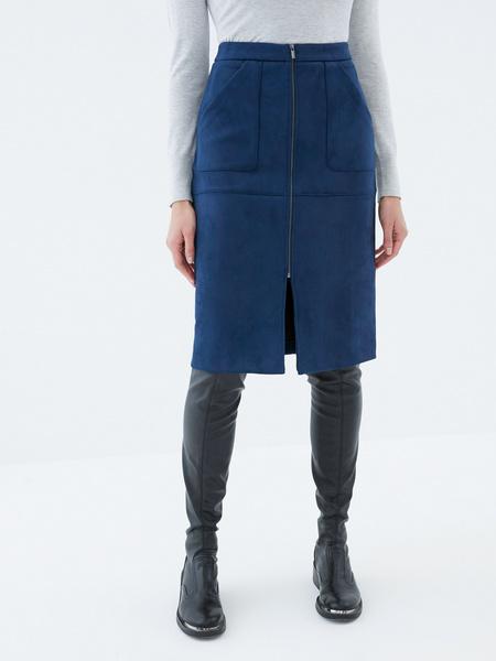 Замшевая юбка - фото 2