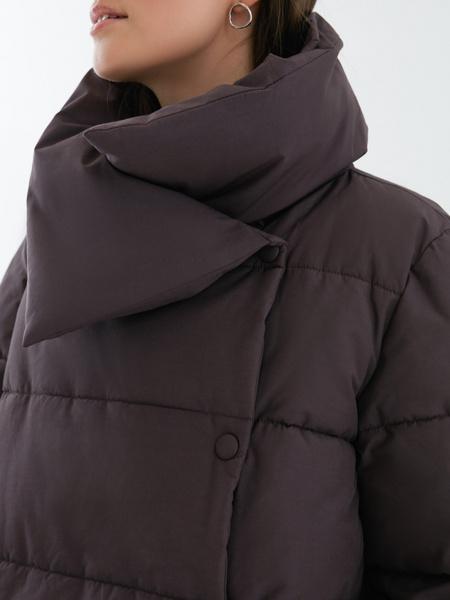 Куртка с объемным воротником - фото 2