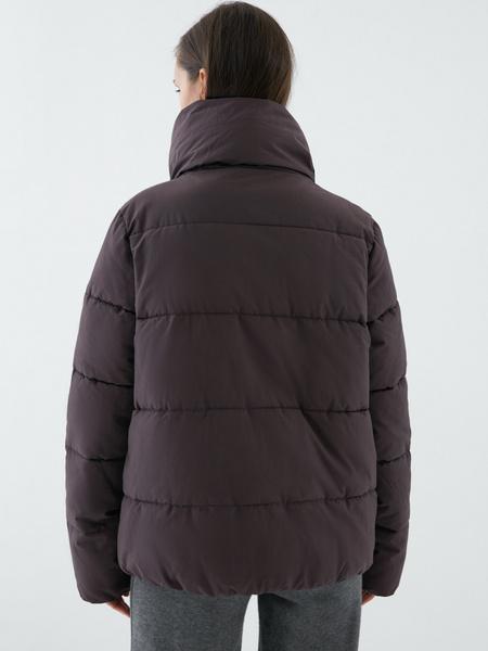 Куртка с объемным воротником - фото 7