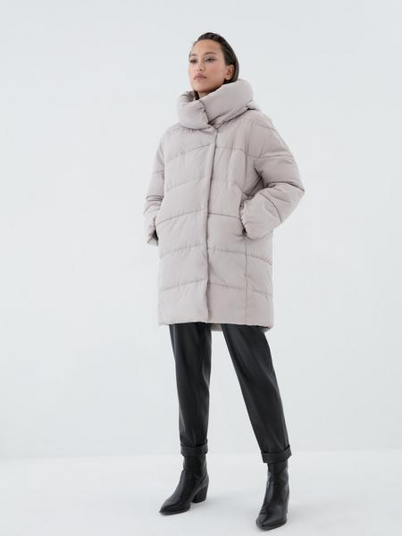Стеганая куртка оверсайз - фото 6