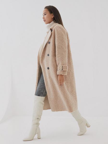 Двубортное пальто - фото 8