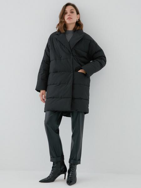 Двубортное пальто - фото 1