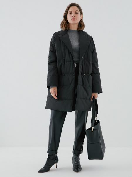Двубортное пальто - фото 6