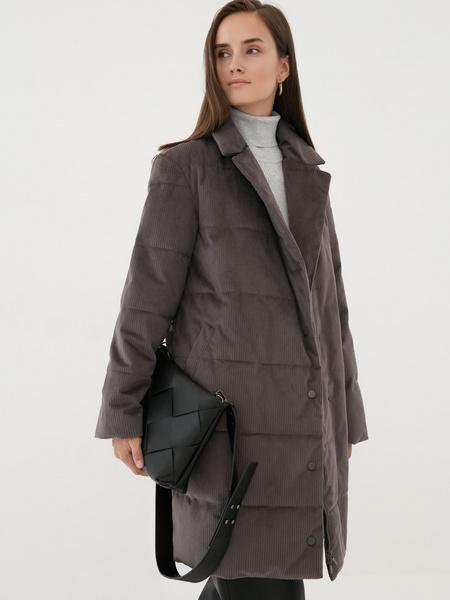 Пальто на поясе - фото 6